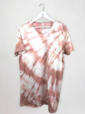 Sea-Me-Happy-tiedye-tshirtdress-L-old-rose-TD46