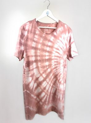 Sea-Me-Happy-tiedye-tshirtdress-xl-old-rose-TD44