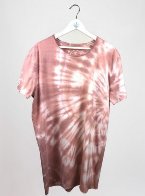 Sea-Me-Happy-tiedye-tshirtdress-xl-old-rose-TD48