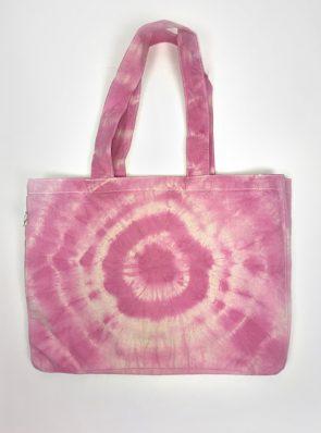SeaMeHappy-tie-dye-beachbag-fuchsia-BB033