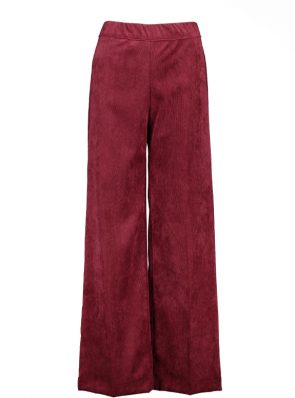 Sea Me Happy gypsy pants corduroy bordeaux