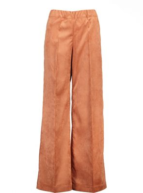 Sea Me Happy wide rib gypsy pants cognac Made in Belgium