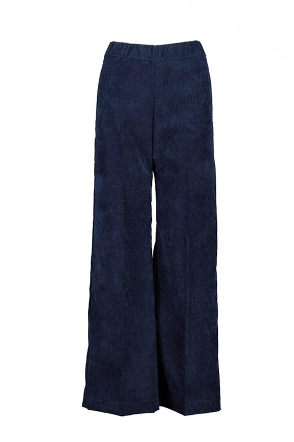 Sea Me Happy gypsy pants corduroy navy blue