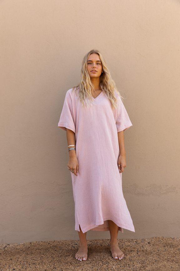 Sea Me Happy Bali dress, 100% cotton, made in Belgium