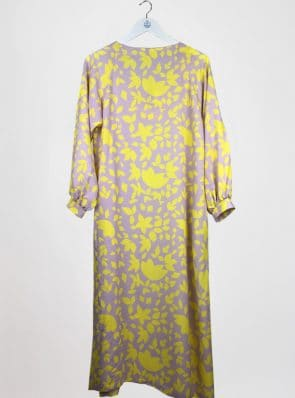 Sea Me Happy Noosa Dress, yellow flowers
