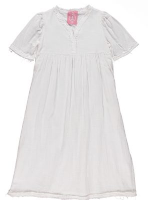 Sea Me Happy Byron Dress ecru, made in Belgium, 100% cotton
