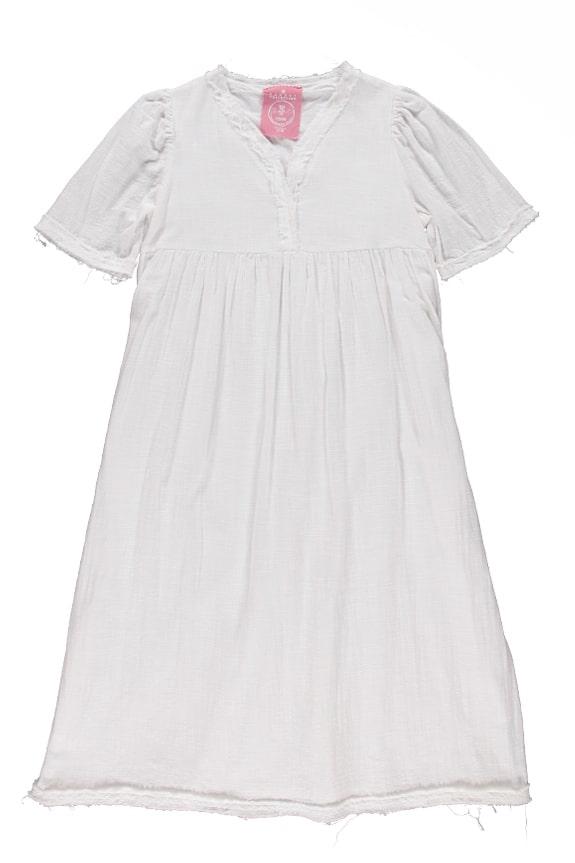 Sea Me Happy Byron Dress ecru, made in Belgium, 100% cotton