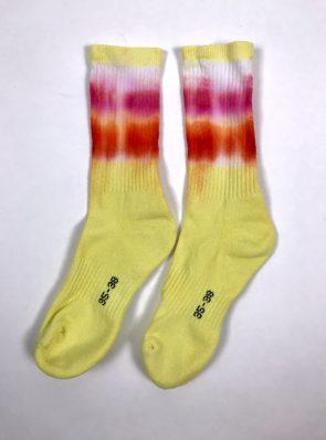 Sea Me Happy Socks tie-dye