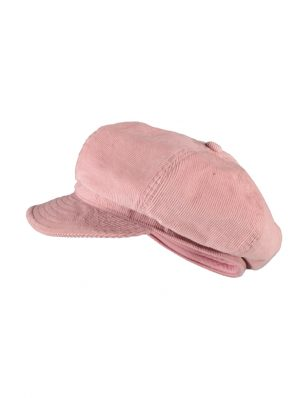 Sea Me Happy Baker Boy hat, rose
