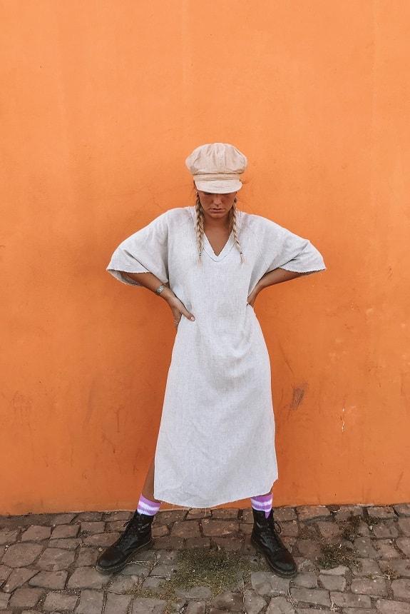 Sea Me Happy Fiji Native Dress Natural