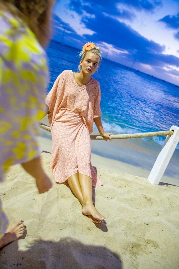 Sea Me Happy Noosa wrap skirt ethnic, back back