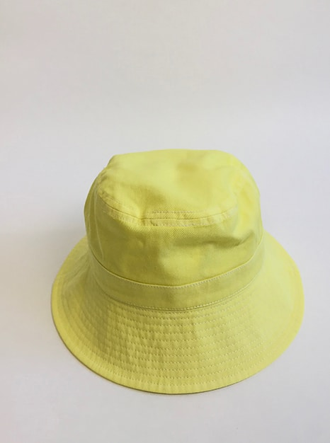 Sea Me Happy Bucket Hat yellow, great with your festival outfit