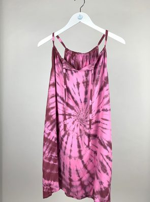 Sea Me Happy Sunshine dress burgundy-pink