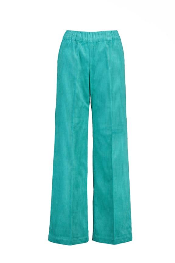 Sea Me Happy Gypsy pants wide rib, bahama blue