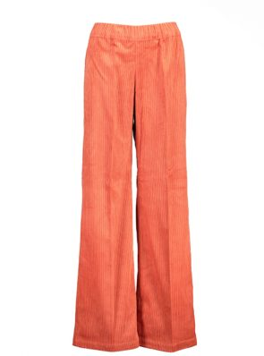 Sea Me Happy wide rib gypsy pants apricot. Made in Belgium