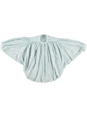 Sea Me Happy Bahia Balloon Blouse baby blue. Batwing sleeves