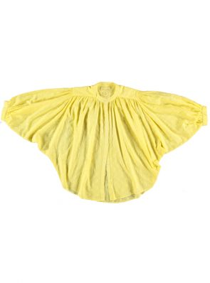Sea Me Happy Bahia Balloon Blouse yellow. Batwing sleeves