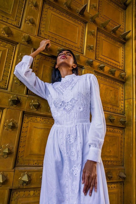 Sea Me Happy Espirito Santo Dress, white, 100% cotton with emboidery
