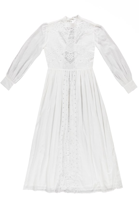 Sea Me Happy Espirito Santo Dress, white, 100% cotton with emboidery