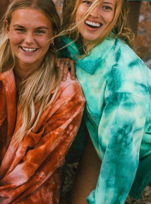 Sea Me Happy Gorgeous Jack - fluo green mix fade in corduroy, unisex
