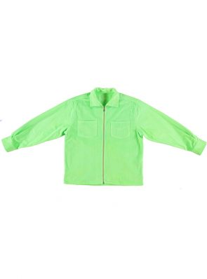 Sea Me Happy Gorgeous Jack fluo green in corduroy