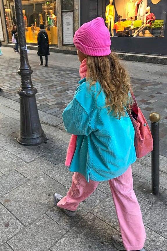 Sea Me Happy Gorgeous Jack - turquoise, gypsy pants fluo rose, beachbag tie dye