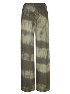 Sea Me Happy Barefoot pants tie dye, black-khaki