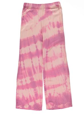 Sea Me Happy Barefoot pants tie dye, desert rose