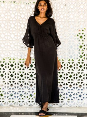 Sea Me Happy Cozumel dress lightweight black