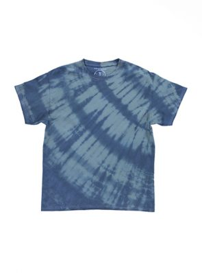 Sea Me Happy T-Shirt tie-dye black-khaki, handmade in Belgium