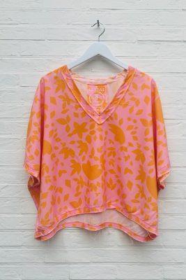 orange/pink print