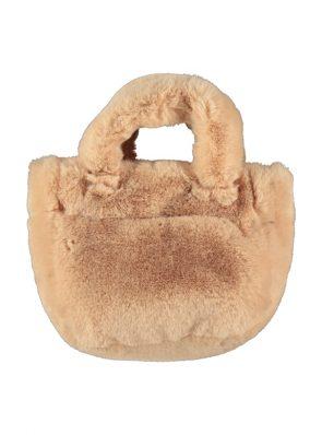 Ushanka bag, sand, 1000% fluffie