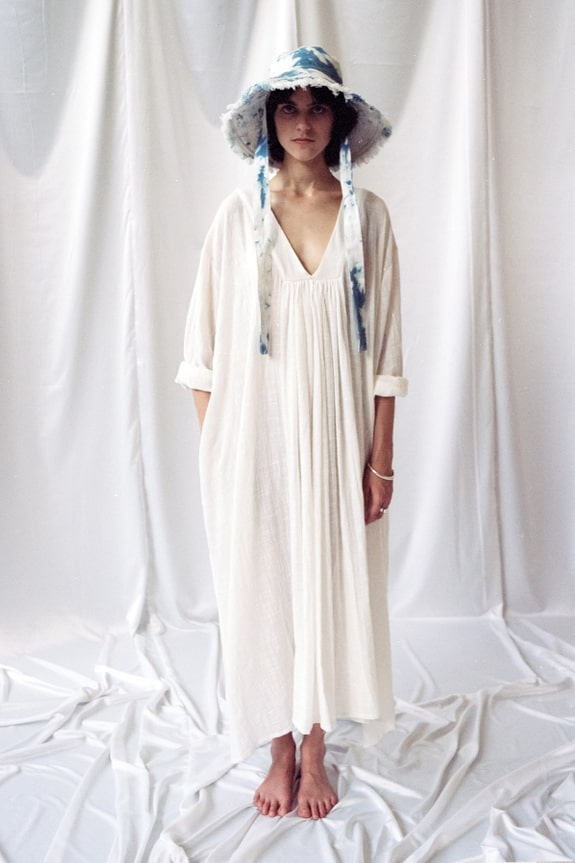 Sea Me Dress long sleeves, lightweight, 100% cotton