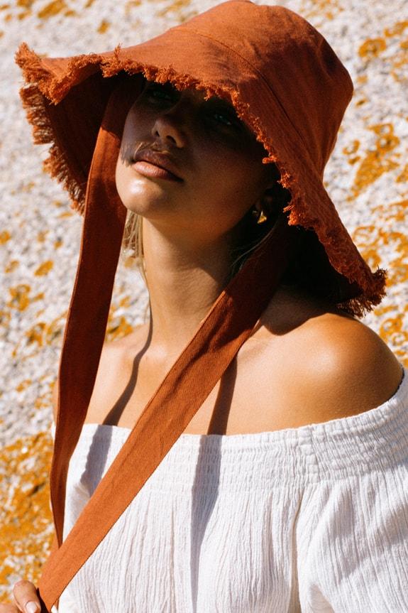 Sea Me Happy Soleada Hat rust