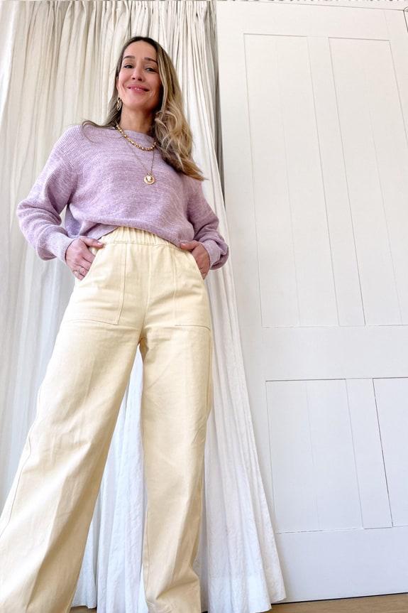 Sea Me Happy Butter pants